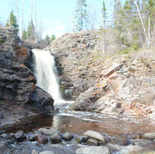 fall river waterfall