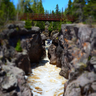 temperance river waterfalls